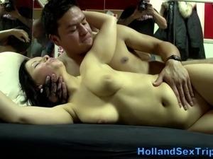 Euro hooker gets pussy slammed