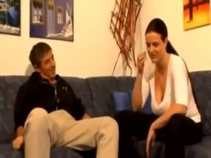 German mature couple fuck hard free