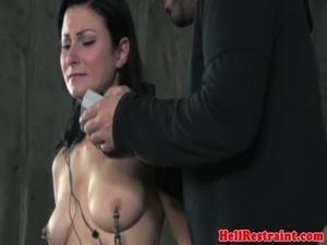 TT NT sub punished with nipple suction free