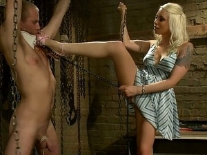 Mistress Lorelei Lee dominates
