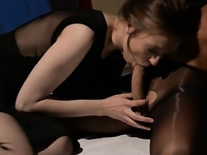 lesbians having sex in front of mirror