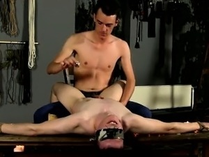 Amazing gay scene The steamy wax on his fragile figure has h