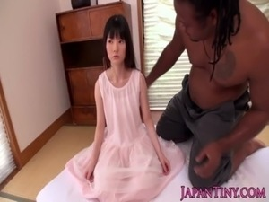 Tiny japanese girl fucked by huge black guy free