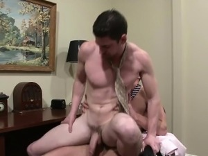 Gay office hook up sucking a huge cock