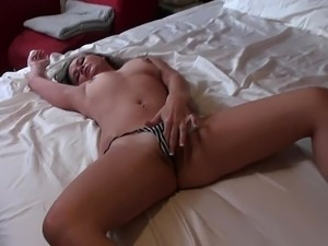 Young Kylee having sex with her boyfriend on camera