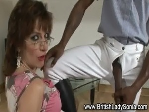 Sexy interracial mature stockings brit free