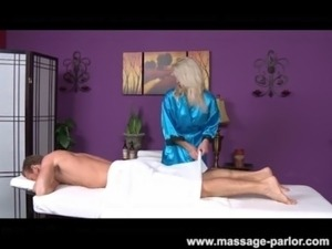 Skinny Blonde Teen Massage Girl Blowjob and Cumshot free