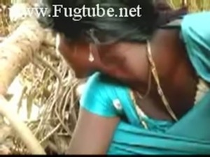 Indian Village girl with her hubby free