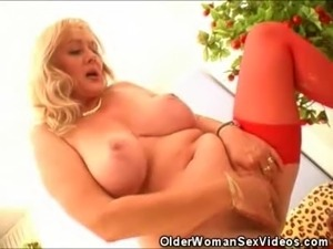 We have these naughty older women as they tag team a lone stud. Watch as they...