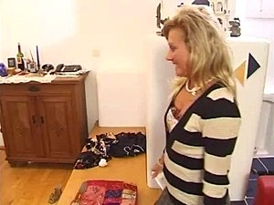 mature german fucked on couch