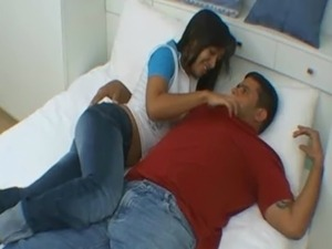 Slut young latina blowjob in jeans free