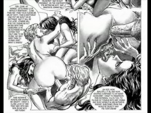 Masterpiece of Bondage Sex Orgy Comic free