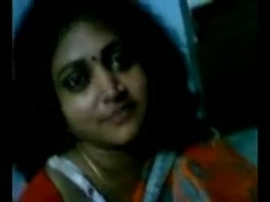 Cheating Bengali wife getting her boobs pressed, talking dirty in Bengali free