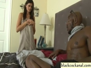 Young wife sucks black convicts cock free