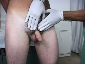 Sexy gay Dr. Luca checked him over in exactly the same way t