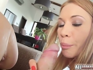Lindsey Olsen and Nataly Gold are best friends and they show just how much in...