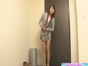 Japanese group sex with toys filling Shiori pussy free