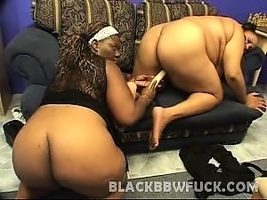 In this hot black bbw sex scene we have two massive ebony