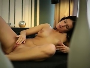 titty brunette and dogystyle fingering