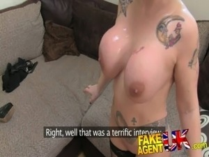 FakeAgentUK Rimming, blowjobs and fucking from Blonde Spanish Milf free