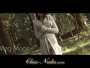 Meg Magic striping sensual outdoor