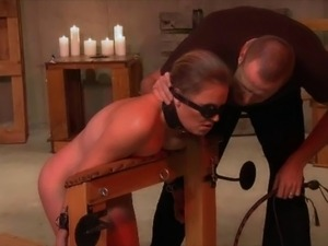 Wasteland Dungeon BDSM Sex Master Ties up Pretty Blonde