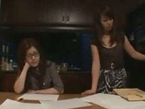 Lusty Japanese Lesbians