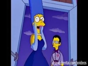 Simpsons Porn - Marge and Artie afterparty free