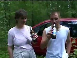 Rocky and his friends fuck a chubby woman
