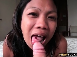 Amateur Oral LBFM Gets Her Wet Pussy Fucked