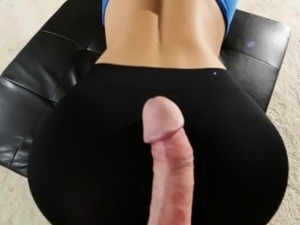 CFNM bitch with big boobs gets fucked