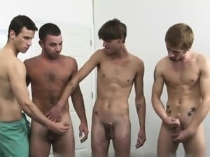 Twink sex Each guy was listening to the doctors commands as