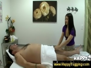 Oriental masseuse makes dick erect free
