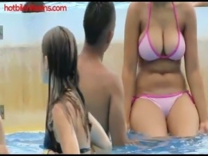 Hot bikini Teens Video free