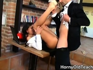 Super hot and sexy brunette with great part2