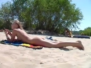 Teen nudists take off their clothes and play nude free