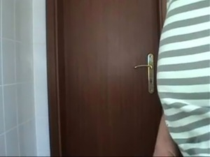 Amateur toilet fuck free