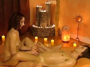 Relaxation Via Erotic Massage