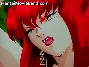 Hot big boobed nasty anime babe gets part1