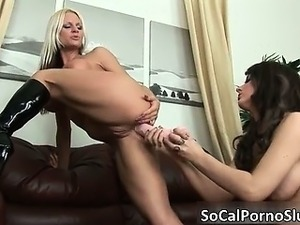 Amazing hot lesbian sluts have great part3