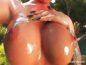 Christy Mack Oil Fun free