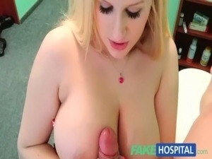 FakeHospital Sexual therapy causes new patient to squirt uncontrollably free