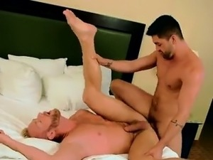 Sexy gay Flip Flop Fucking With The Boss