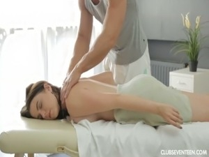 Russian girl gets big tits fucked free