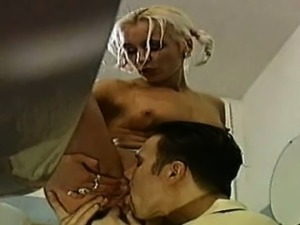 Alluring hoties get fucked in the school toilet