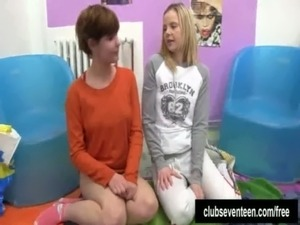 Kinky lesbian teens licking pussies free