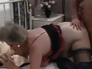 Fat European Granny And A Stud Fucking