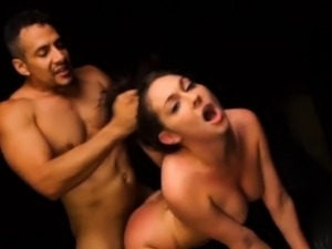 Brittany Shae endures BDSM sex