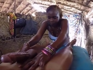 Real Massage on the Beach with Blowjob (by Maradona1987)
