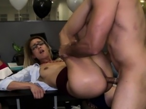 My office manager fucked on camera